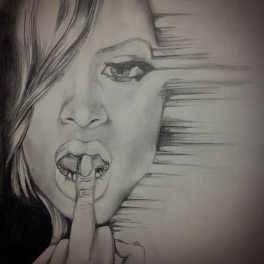 Rihanna, a study in attitude