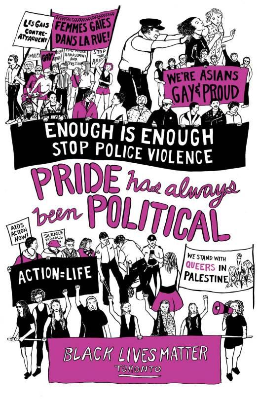 Pride Has Always Been Political Poster