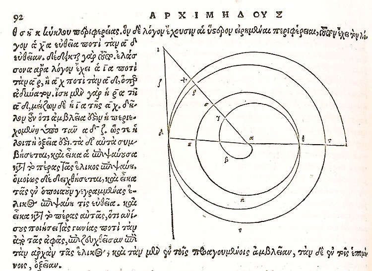 By Archimedes of Syracuse (The Number Pi man) 3th century