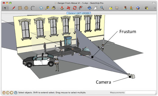 SketchUp for Film and Stage Visualization