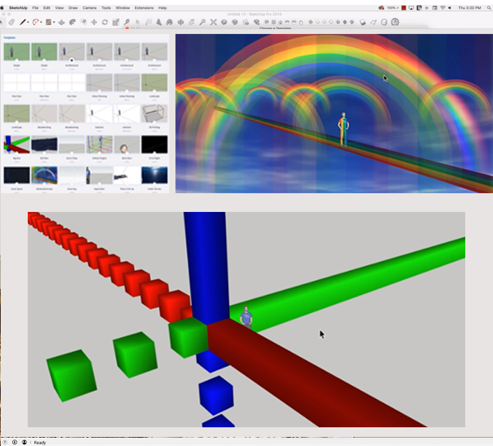 Advanced templates in SketchUp Pro