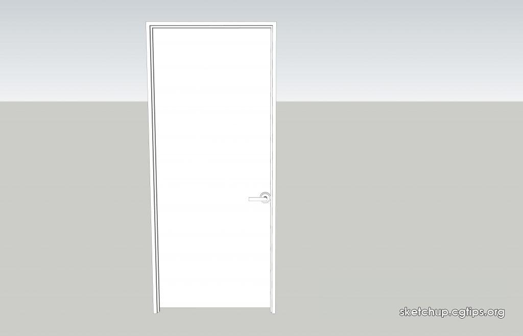 98 doors sketchup model