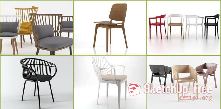 chair design sketchup accent recliner chairs 1751 model free download