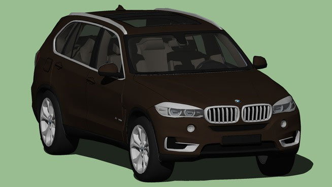 Sketchup Components 3D Warehouse  BMW Car