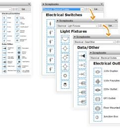 electrical plan google sketchup [ 1725 x 1143 Pixel ]