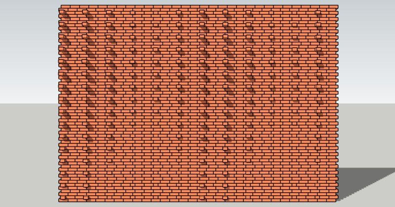 Pulled Brick Design Options