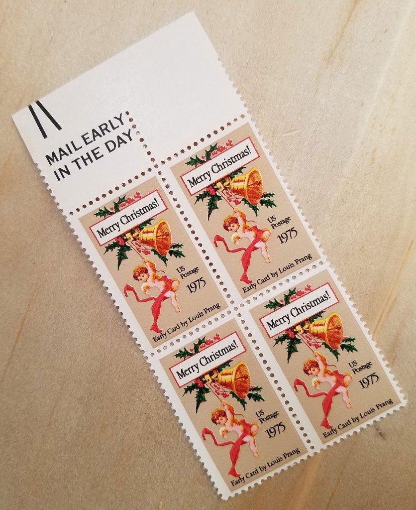1975 Non-denominated Christmas stamp
