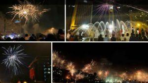 Gambar perayaaan tahun baru sebelumnya, di kota Yogyakarta tahun 2016