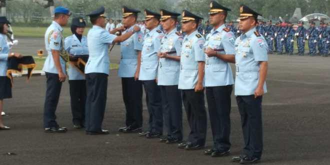 Tiga Jabatan Komandan Skadron Lanud Abdul Saleh Diserahterimakan