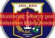 Security Pos Warga  Kelurahan Kebon Kosong