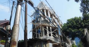 Sudin Citata dan Satpol Jakarta Pusat Bongkar Bangunan Jalan Rembang Menteng Tak Jelas
