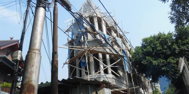 Melanggar IMB di Bongkar di Jalan Rembang Menteng, Warga Adukan Tanah Fasum Yang di Serobot