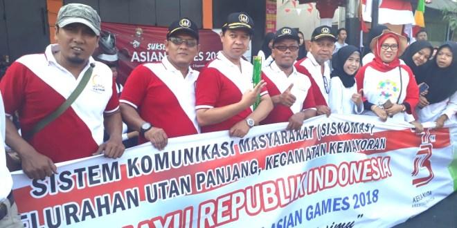 """Fantastic"""", Utan Panjang Bentangkan Spanduk Terpanjang 600 M, Fiture Kemerdekaan ke – 73 dan Asian Games 2018″"""