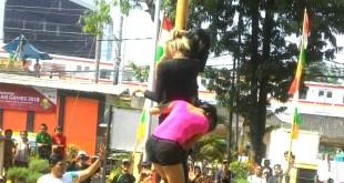 "Penuh Sesak Warga Menteng Tonton ""Waria"" Pesta Rakyat HUT Kemerdekaan"