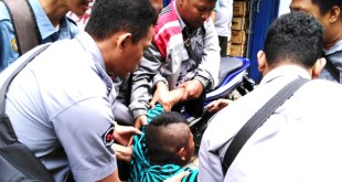 "Rabu Tertib : Pemuda ""Cogan"" Stress Meronta Diangkut Petugas, 9 Gelandangan Warga Daerah"