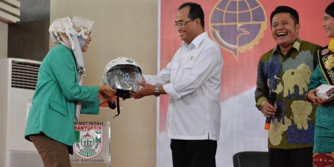 Menhub Dorong Kabupaten Banyuasin Jadi Percontohan Penyelenggaraan Transportasi Sungai