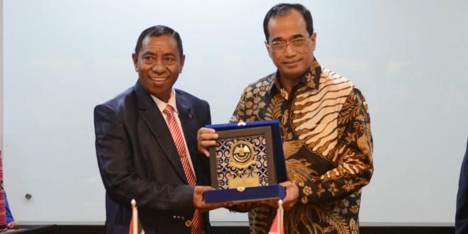 Indonesia dan Timor Leste Sepakati Peningkatan Sektor Transportasi