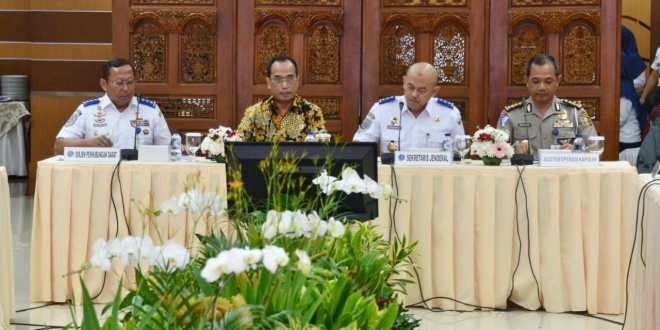 Gelar Rakor, Menhub Minta Seluruh Stakeholder Persiapkan Keselamatan dan Kelancaran Angkutan Lebaran Tahun 2019