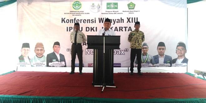 Ketua NU DKI Saefullah : Warga Jakarta Kembali Normal Pasca Pilpres