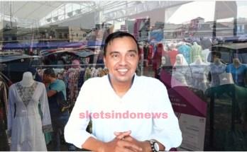 Foto Istimewa, Pengelola Pasar Tasik, H. Heru Nuryaman. (Dok. sketsindonews.com)