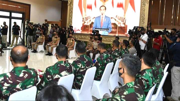 Presiden RI :  Ingatkan Para Capaja TNI-Polri Calon Pemimpin Masa Depan