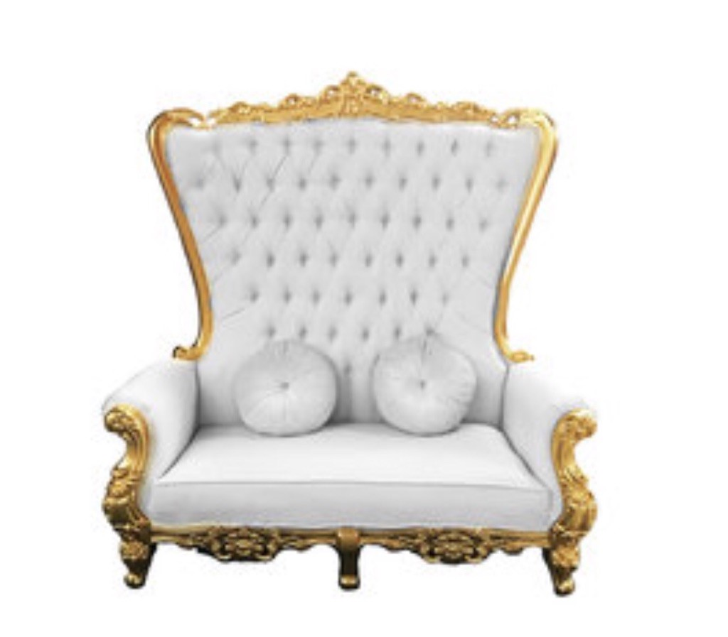 King Throne Chair Rental Luxury Wedding Event Lounge Furniture King And Queen