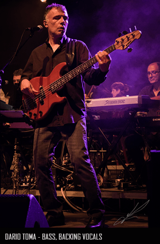 Dario Toma - Bass, Backing Vocals