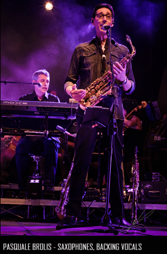 Pasquale Brolis - Saxophones, Backing Vocals