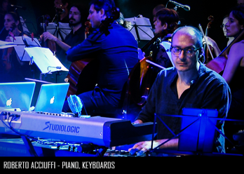 Roberto Acciuffi - Piano, Keyboards