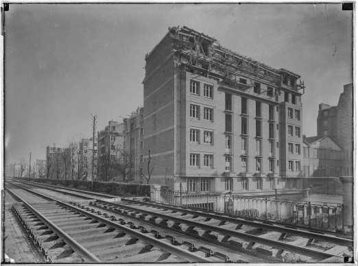 1925, 147 logements, 75012 Office Public d'Habitations à Bon Marché, maître d'oeuvre © Archives Paris-Habitat-OPH