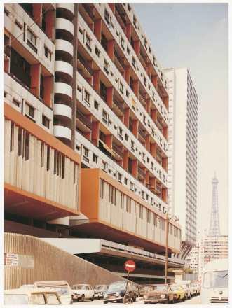 1973, 180 logements, 75015 Jean-Claude Jallat / Michel Proux, architectes © Collection Pavillon de l'Arsenal