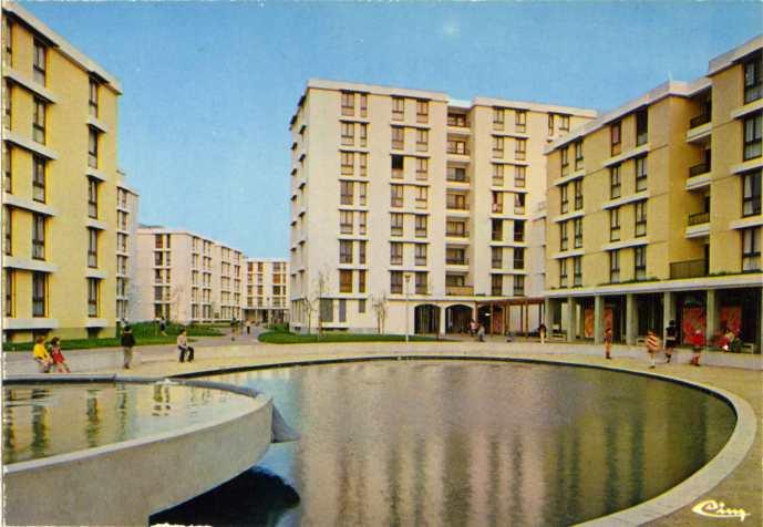 1973, 190 logements, 94350 Denis Honegger, architecte © SIAF/Cité de l'architecture et du patrimoine/ Archives d'architecture du XXe siècle