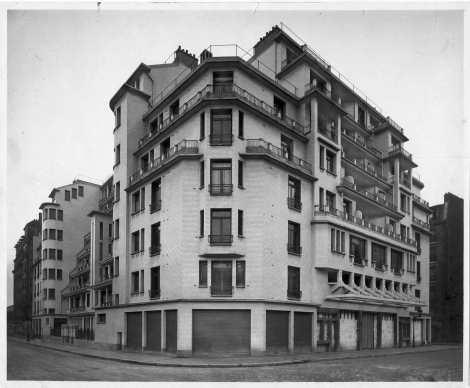 1922-1926, 79 logements, 75018 Henri Sauvage, architecte © SIAF/Cité de l'architecture et du patrimoine/Archives d'architecture du XXe siècle