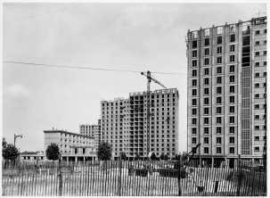 1961, 592 logements, 92240 Denis Honegger © SIAF/Cité de l'architecture et du patrimoine/ Archives d'architecture du XXe siècle.Tif