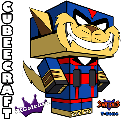 Swat Kats T-bone 3D small1