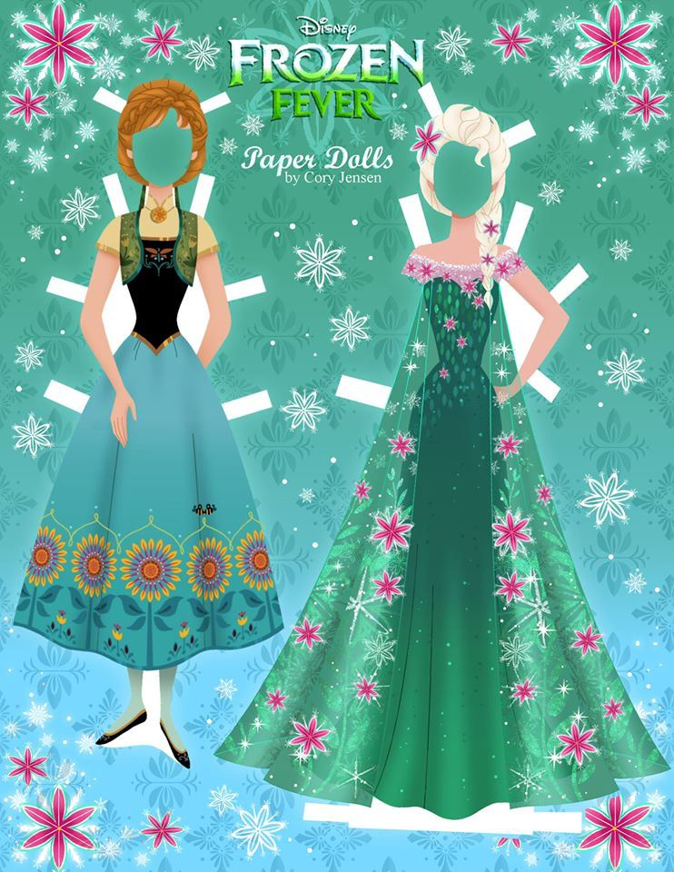 Disneys Frozen Paper Dolls
