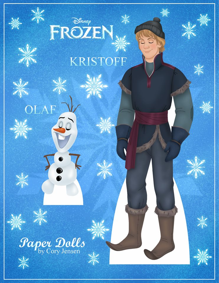 coloring pages frozen kristoff doll - photo#30