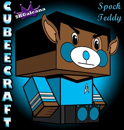 teddy ST Spock by SKGaleana 3d small
