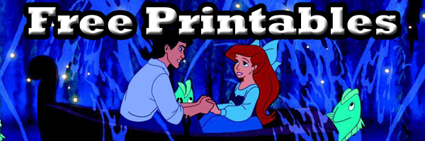 Little Mermaid Free Printables at SKGaleana