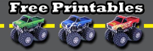 photograph regarding Printable Papercrafts identify No cost Monster Truck Printable Papercrafts SKGaleana