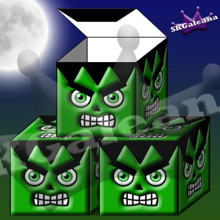 Frankenstiens Monster Box by SKGaleana