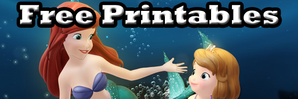 Disney Sofia the First the floating Palace free printables