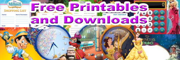 2010 Celebrate you Disney Downloads and Printables SKGaleana