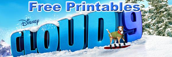 Cloud 9 printables