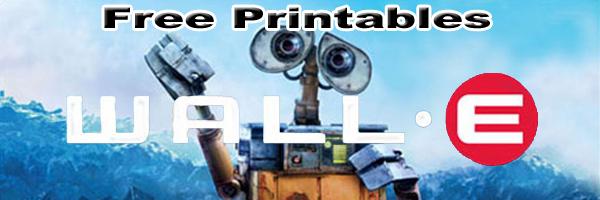 Walle Free Printables SKGaleana