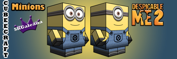 minion 2 eyes cubeecraft skgaleana