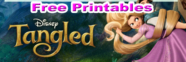 Disney Tangled Free Printables Downloads And Activities