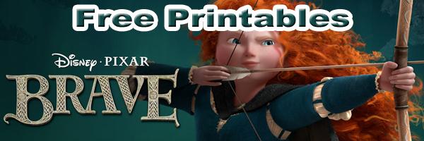 Free Brave Printables SKGaleana