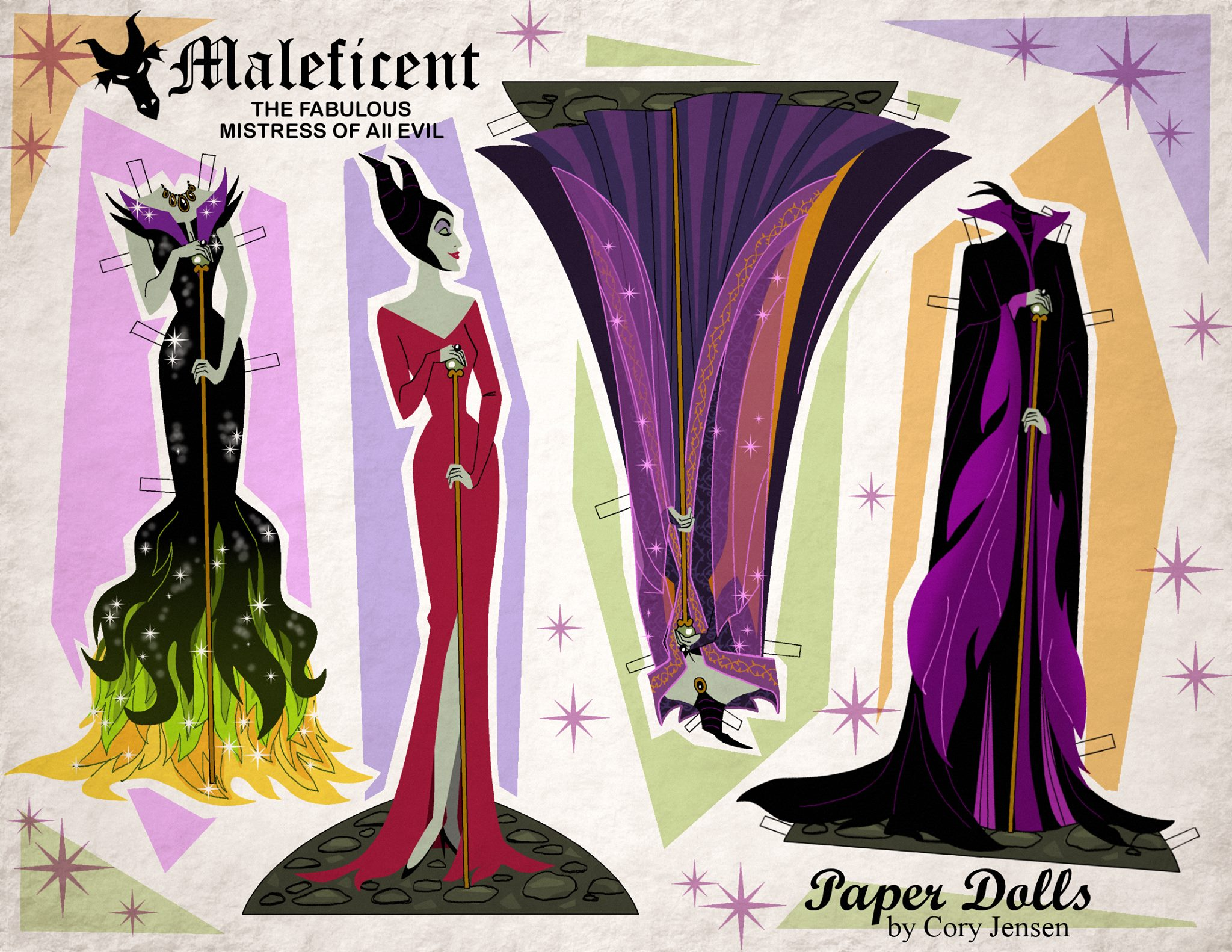 Disney s Maleficent Free Printables crafts and coloring pages SKGaleana