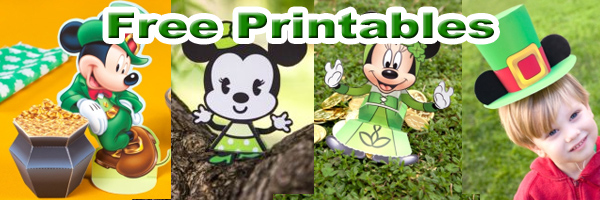 St Patricks day disney printables SKGaleana